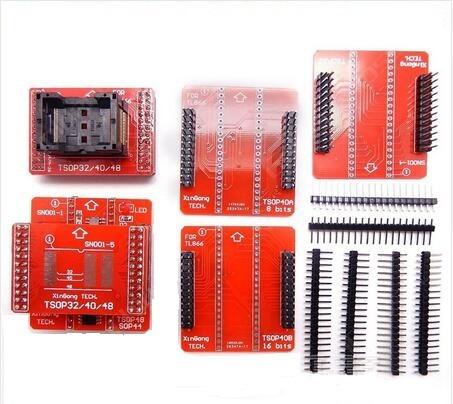 adaptador tsop48 32 40 gravador tl866cs minipro original