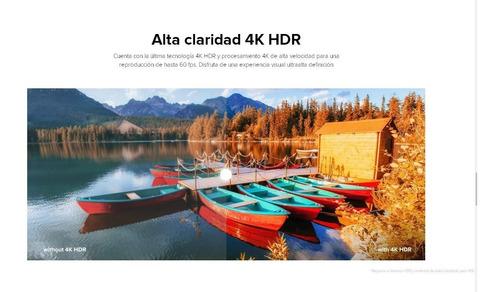 adaptador tv android xiaomi mi box s - 4k -delivery 100% +