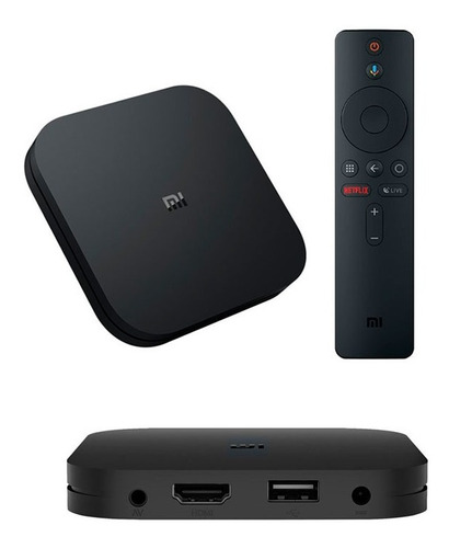 adaptador tv  xiaomi mi box s -  reputacion100%++