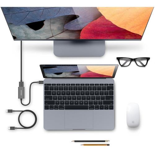 adaptador - ucouso - usb-c a hdmi - 4k 60hz ideal mac