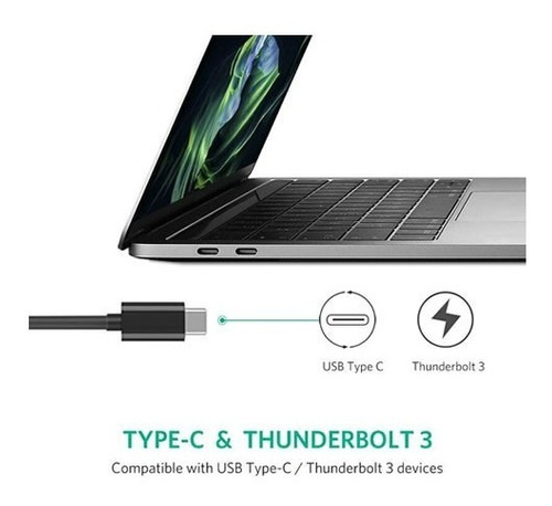 adaptador ugreen usb-c a ethernet gigabit rj45 lan 100/1000