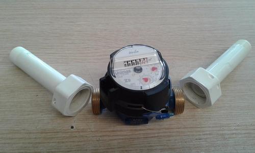 adaptador união curto 4cm rosca 3/4 hidrômetro relogio (uni)