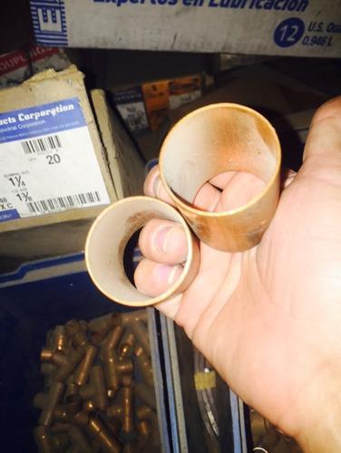 adaptador, union o anillo de cobre soldable de 1 3/8
