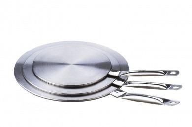 adaptador universal 19cm ollas sarten para cocinas inducción