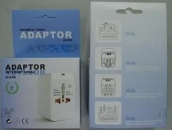 adaptador universal de tomadas ac para viagem todos padroes!
