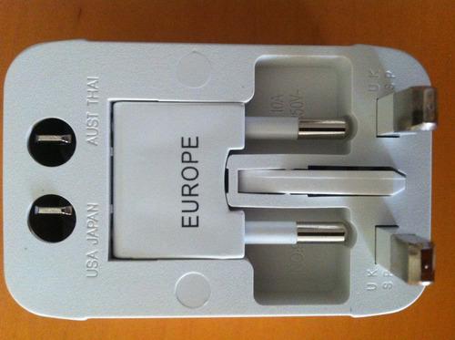 Adaptador universal para contactos electricos enchufes for Adaptador enchufe mexico