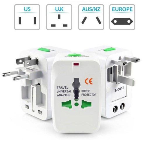 adaptador universal tomada padrão internacional todo países