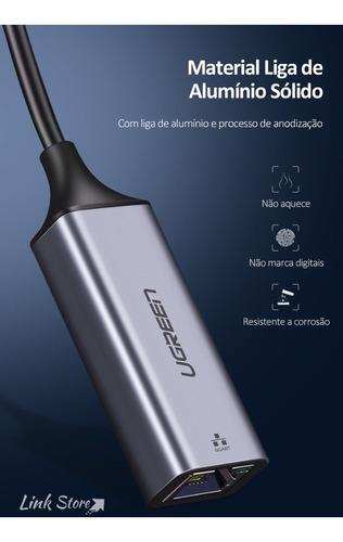 adaptador usb 3.0 rj45 10/100/1000 - ugreen nintendo switch