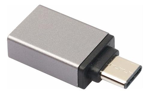 adaptador usb 3.1 tipo c a otg 3.0 huawei mate 9 p10 plus