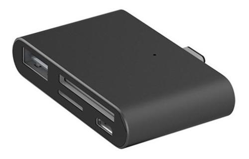 adaptador usb 3.1 usb-c leitor cartão micro usb sd galaxy