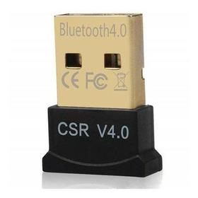 Adaptador Usb Bluetooth Dongle 4.0 Receptor Audio Pc Fone