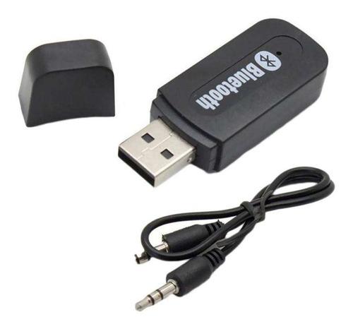 adaptador usb bluetooth receptor parlante + cable aux +envio