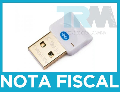 adaptador usb bluetooth versão 4.0 + edr dongle class2 *novo