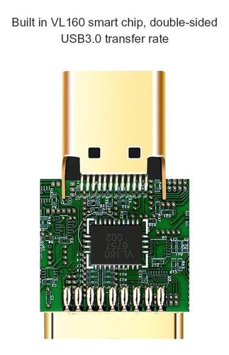 adaptador - usb-c hembra a usb 3.0 macho