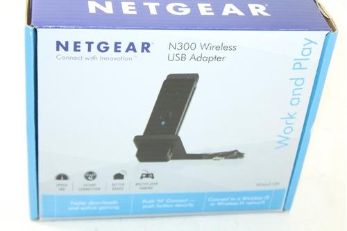 adaptador usb inalambrico netgear wna3100 n300 excelente!
