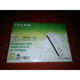 Adaptador Usb Inalámbrico Tp-link N 150mbps Tl-wn721n