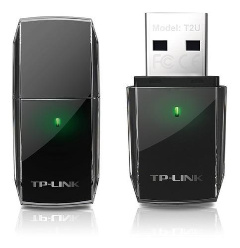adaptador usb inalambrico wifi tplink t2u dualband 5g ac600