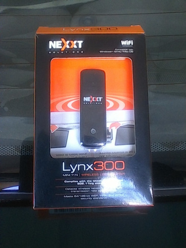 adaptador usb nexxt lynx 300 wireless para pc