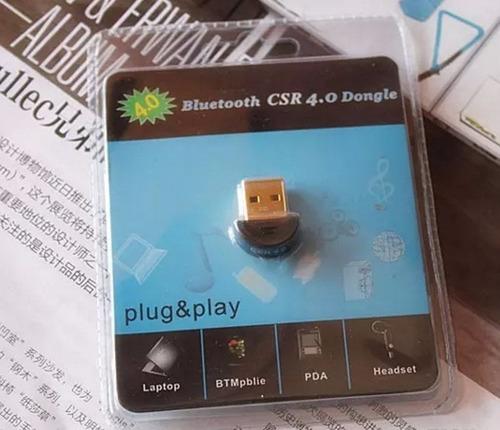 adaptador usb para conexiones bluetooth