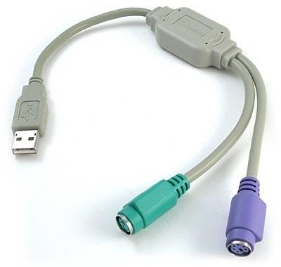 adaptador usb ps2 teclado e mouse #maisbarato