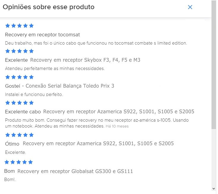 Adaptador Usb Serial Rs232 Db9 Femea - Cabo Para Recovery - R$ 54 ...