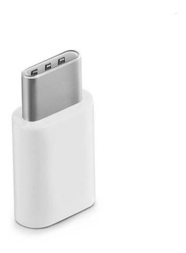 adaptador usb tipo c convierte micro usb a tipo c