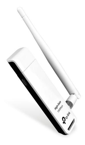 adaptador usb tp-link inalámbrico 150mbps tl-wn722n