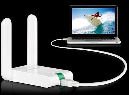 adaptador usb tp-link tl-wn822n de 300mbps
