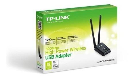 adaptador usb tplink  300mbps banda ancha potente nnet