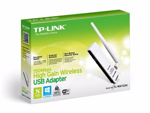 adaptador usb wifi 150mbps tp-link wn722n