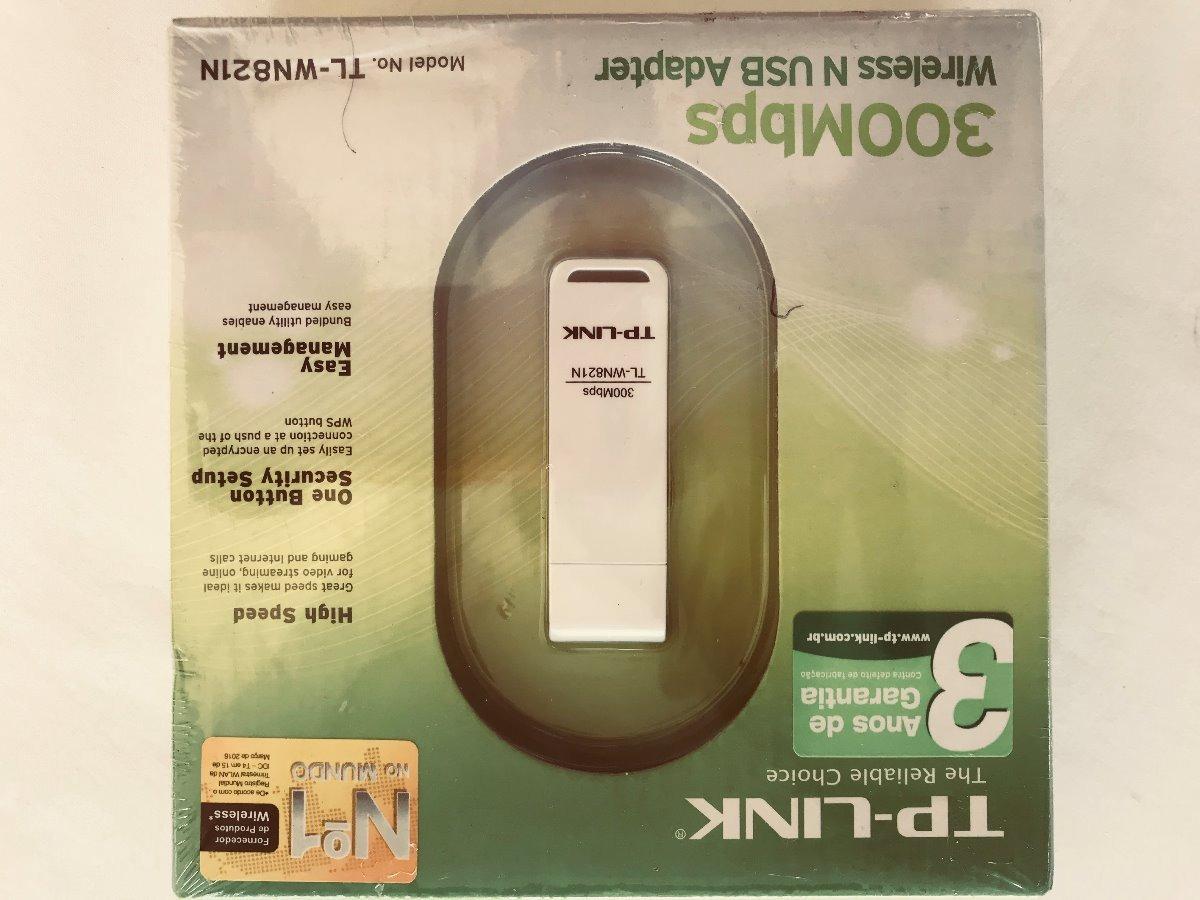 Adaptador Usb Wifi 300mbps 821n Tplink Caixa Lacrada Novo R 5993 Tp Link Tl Wn Speed 300 Mbps Carregando Zoom
