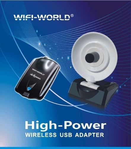 adaptador usb wifi 880wg 8000 mw icewolf 58 dbi realtek 8187