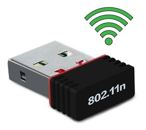 adaptador usb wifi mini ideal computadora de escritorio
