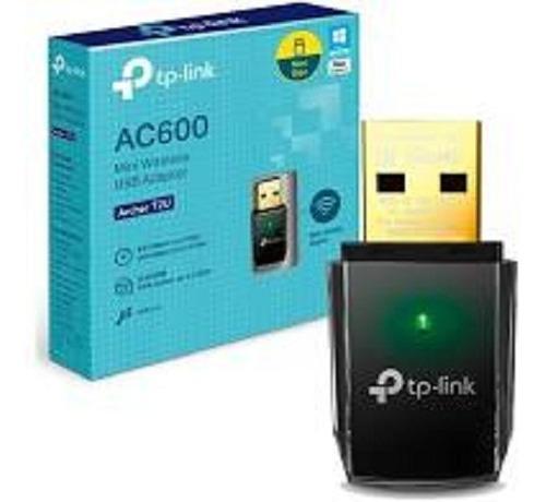 adaptador usb wifi tp-link archer t2u doble banda 2.4/5.8