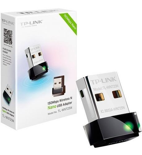 adaptador usb wifi tp-link wn725n 150mb - factura a / b
