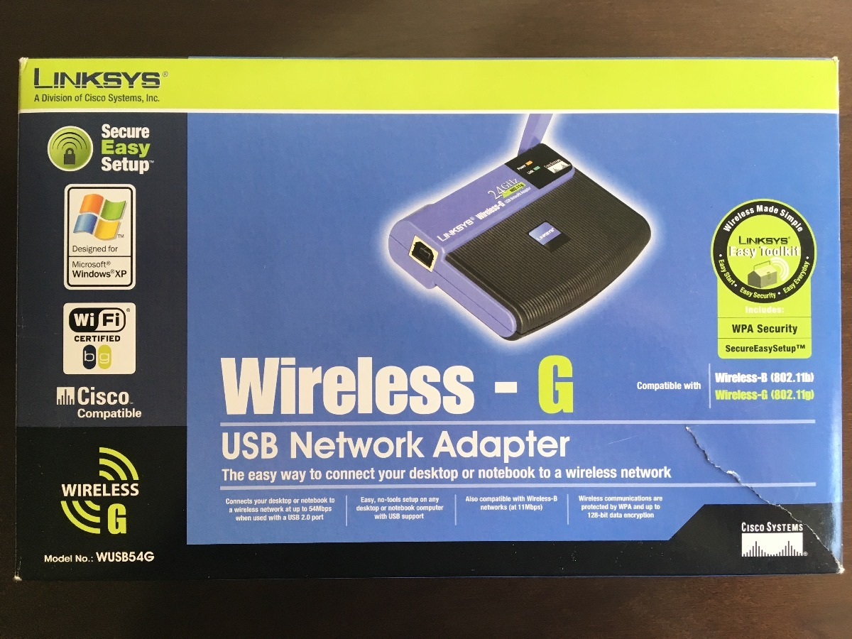 LINKSYS WUSB54GS ADAPTER WINDOWS 7 64BIT DRIVER DOWNLOAD
