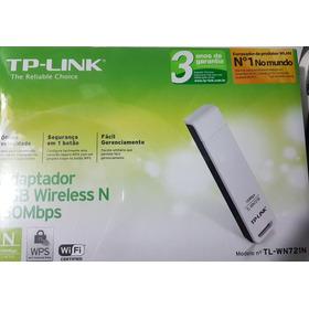 Adaptador Usb Wireless N 150mbps Tp-link Tl-wn721n  Novo