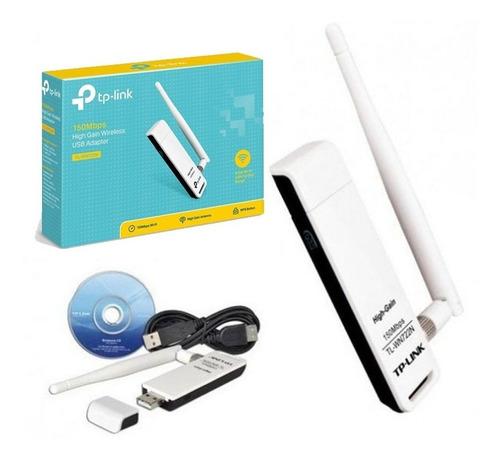 adaptador usb wireless n tp-link tl-wn722n -datamak