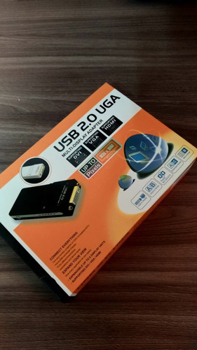 adaptador vídeo usb 2.0 multi display monitor hdmi dvi vga