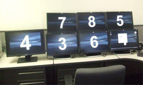 adaptador vídeo usb multi display p/ monitor hdmi dvi vga