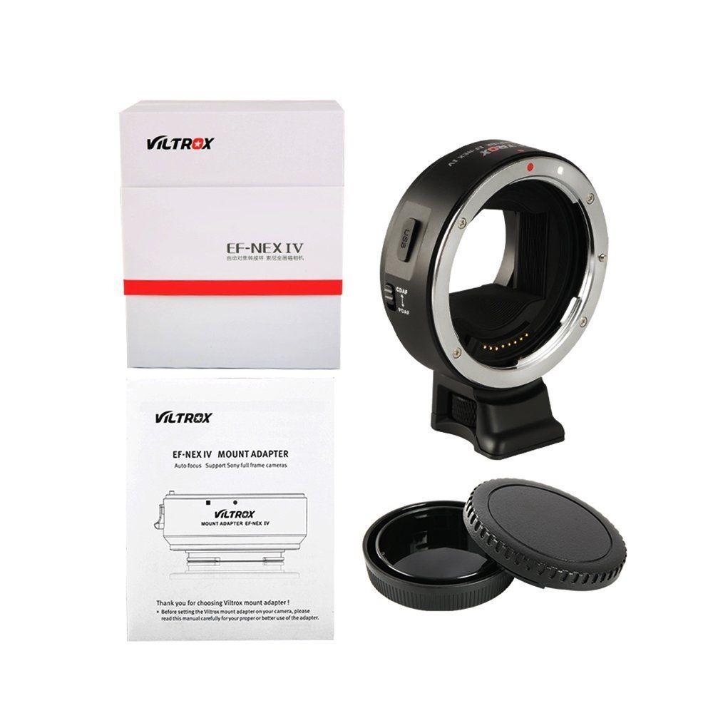 Adaptador Viltrox Ef-nex Iv Canon Sony E A7iii A7ii A9 +nf