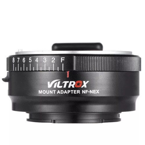 adaptador viltrox nf-nex lentes nikon f para sony e-mount