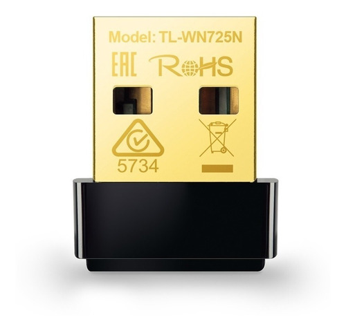 adaptador wi fi tp-link tl-wn725n versão 2.0  novo