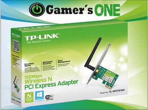 adaptador wifi pci tp-link tl-wn781nd
