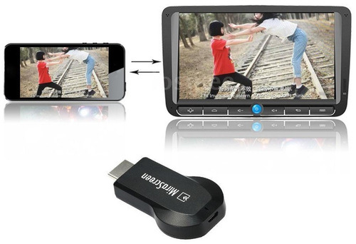 adaptador wifi smart tv multimedia dongle hdmi micrasreen