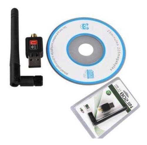 adaptador wifi usb inalambrico 600 mbp antena repotenciador
