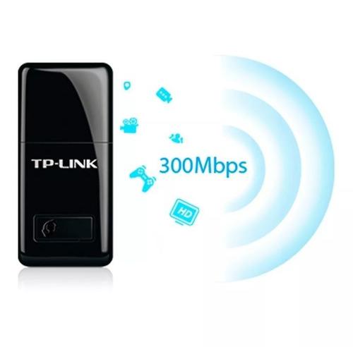 adaptador wifi usb n 300mbps tp-link tarjeta red mac,w7,8,1o