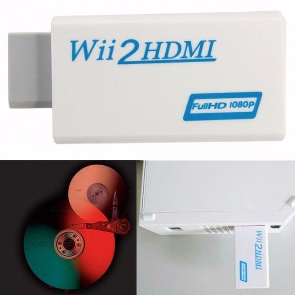 Adaptador Wii A Hdmi Convertidor Salida De Video W131