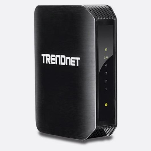 adaptador wireless media brigde trendnet 4 port  ac1200