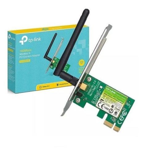 adaptador wireless mini pci tp-link tl-wn781nd 150mbps